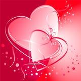 Валентайн сердец Стоковая Фотография RF