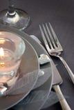 Валентайн таблицы установки дня романтичное Стоковые Фотографии RF