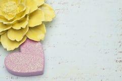 Валентайн текстуры влюбленности предпосылки цветастое Стоковые Изображения