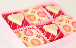 Валентайн шоколада s Стоковое Фото