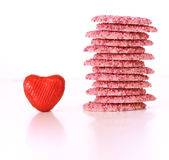 Валентайн шоколада s Стоковые Фотографии RF