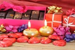 Валентайн шоколада s Стоковые Изображения RF