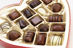 Валентайн шоколада s Стоковые Изображения