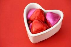 Валентайн шоколадов Стоковые Фото