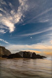 валуны пляжа стоковая фотография