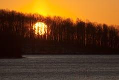валы восхода солнца Стоковое Фото