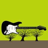 валы гитары иллюстрация штока