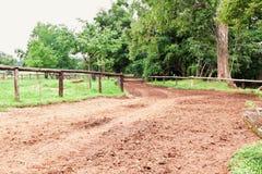 валы дороги фермы вниз Стоковое Фото