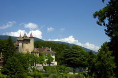 валы замока Стоковое Фото
