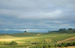 валы ландшафта дома стоковое фото rf