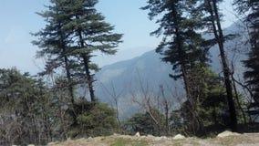 Валы на холмах Стоковое фото RF