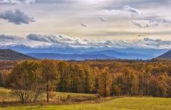 валы осени цветастые Стоковые Фотографии RF