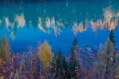 валы реки отражения Стоковая Фотография