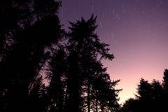 валы тропки звезды стоковое фото rf