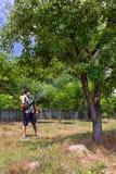 валы хуторянина распыляя Стоковое Фото