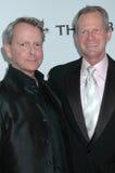 Вальтер Lowry и Craig Томпсон на APLA «габарит пожалуйста» Оскар осматривая партию. Аббатство, западное Голливуд, CA 02-22-09 Стоковые Фотографии RF