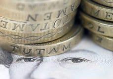валюта Великобритания Стоковая Фотография