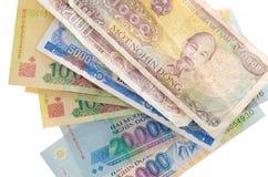 Валюта Вьетнама Стоковая Фотография
