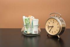 Валюта денег евро Стоковая Фотография RF