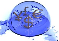 валюта незащищенная Стоковые Фотографии RF