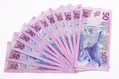 валюта Новая Зеландия Стоковая Фотография