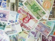 валюта различная Стоковое Изображение RF