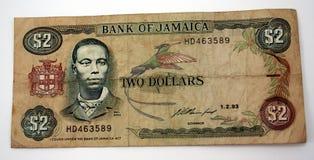 валюта ямайка Стоковое Изображение RF