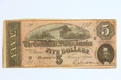 валюта 5 устарелая Стоковые Фотографии RF