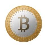 Валюта Bitcoin секретная Стоковое фото RF