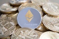 Валюта Ethereum цифровая Стоковая Фотография RF