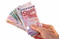 валюты гловальные Стоковое Изображение