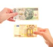 валюты различные Стоковые Фото