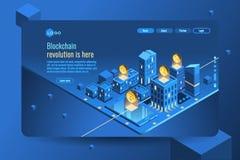 Валюты cryptp денег Cryptocurrency равновеликие infographic бесплатная иллюстрация