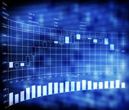 валют индикаторов свечки торговлей японии Стоковая Фотография RF