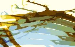 вал ветви Стоковое Фото