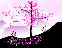 вал вишни Стоковые Фото