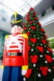 вал воина украшения рождества деревянный Стоковое фото RF