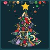 вал волшебства рождества Стоковая Фотография RF