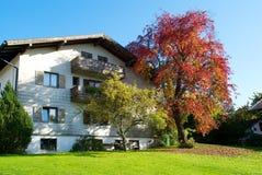 вал дома цвета осени баварский Стоковое фото RF