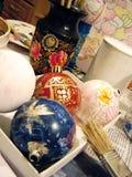 вал ели творения шариков Стоковые Фотографии RF