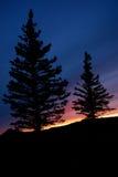 вал захода солнца плана Стоковое Изображение