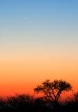 вал захода солнца Стоковые Фотографии RF