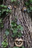 вал зеленого человека принципиальной схемы Стоковые Фото