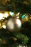 вал золота рождества bauble декоративный Стоковые Фотографии RF