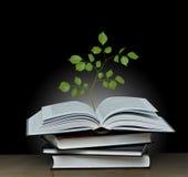 вал книги растущий открытый Стоковые Изображения
