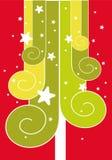 вал красного цвета рождества бесплатная иллюстрация