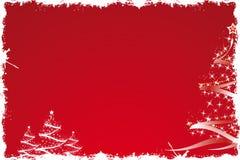 вал красного цвета рождества иллюстрация штока