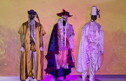 вал кукол costume масленицы типичный стоковые фотографии rf