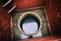 Вал люка -лаза подземной системы танка для дизеля Стоковое фото RF
