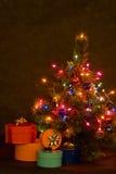 вал ночи рождества Стоковые Фотографии RF